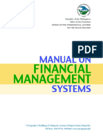 Manual on Financial Management System