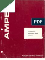 3310029-01 AMPEX DDX900B Tester Maintenance Manual