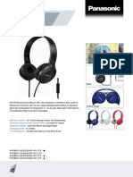 Panasonic RP-HF100M