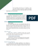 Marketing Report of Imtaiz