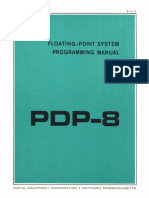 8-5-S PDP-8 Floating Point System Programming Manual