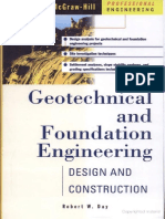 Geotechnical and Foundation Engineering by Robert W Day