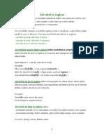 adverbul in lima engleza