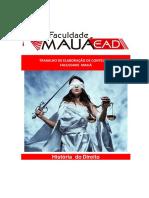 Apostila História do Direito - COM QUESTIONÁRIO DE LEITURA DIRIGIDA.pdf