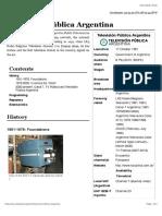 Televisión Pública Argentina - Wikipedia