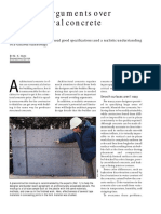 Avoiding Arguments Over Architectural Concrete