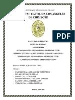 Monografia de Derecho Romano Walter