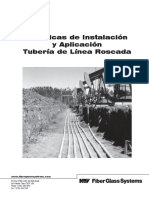 F7000S - STAR Threaded Line Pipe Installation Manual - SPANISH