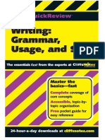 Writing.grammar.usage.and.Style.cliff.quick.review