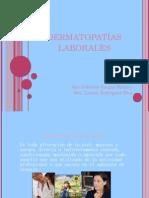 Dermatopatías Laborales