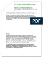 La Estructura Organizacional Funcional