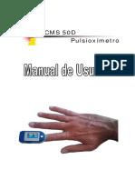 Pulsioximetro CMS50D 0.93