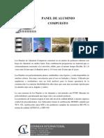 Ficha Tecnica de Panel de Aluminio Connexa