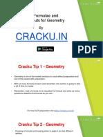 Geometry Formulas Cracku