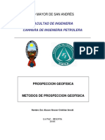 Metodos de Porspeccion Geofisica