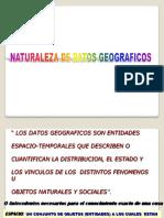 1 Naturaleza de Datos