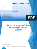 Organigrama Estado Peruano