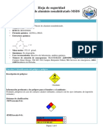 Nitrato de Aluminio Nonahidratado
