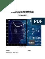 Temario Calculo Diferecial