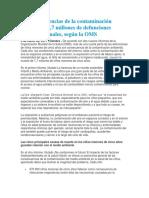 Las Consecuencias de La Contaminación Ambiental OMS