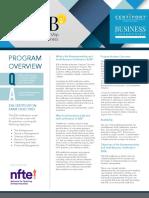 ESB Progarm Overview