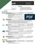 Resume International
