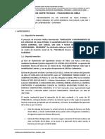 Informe Corte T_chonta