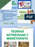 Teorias Keynesiana y Monetarista