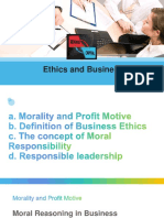 Ethics Nad Business