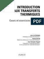 Introduction aux transferts thermiques - Cours et exercices corrigés.pdf