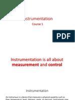 Instrumentation Course 1