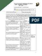 Taller de Refuerzo Primer Bloque - Octavo Estudios Sociales