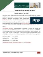 Boletin Optimizacion de Energia Agosto 2018docx