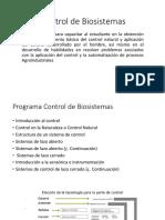 Control de Biosistemas 1