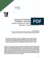 Escribir La Historia Mapuche-Jorge Paves