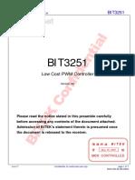 9623_BIT3251_Datasheet