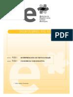 Pruebas III y IV Interpretacion de Textos Orales y Concienci