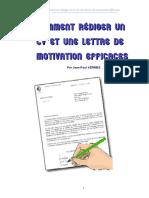 Comment rediger CV et lettres de motivation.PDF