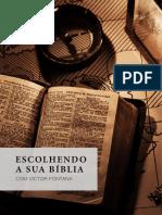 Escolhendo Sua Bíblia - Victor Fontana
