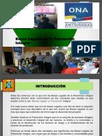 BASES LEGALES DE LA PREVENCIÓN INTEGRAL