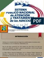 SISTEMA PUBLICO NACIONAL DE TRATAMIENTO DE LAS ADICCIONES