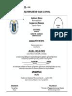 Sample Diploma Template (4) (2)