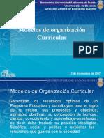 2 MODELOS DE ORGANIZACIóN CURRICULAR