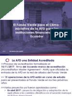 AFD FondoVerdeparaClimaMAE