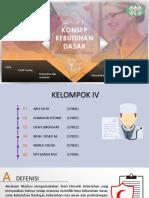 KLP IV - KDM - Konsep Kebutuhan Dasar memiliki dan dimiliki