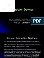 HCI 03 UNIT v InteractionDevices 2