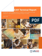 Project CLEAR Terminal Report