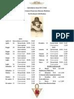 Calendario Pronaos Francesco Bacone Modena 3366(1)