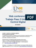 Web Conferencia 3 Control Digital Paso 3 Fecha 05-10-2018