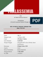 Thalassemia Case
